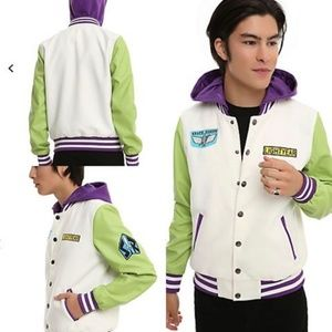 Disney Buzz Lightyear Space Ranger Varsity Jacket